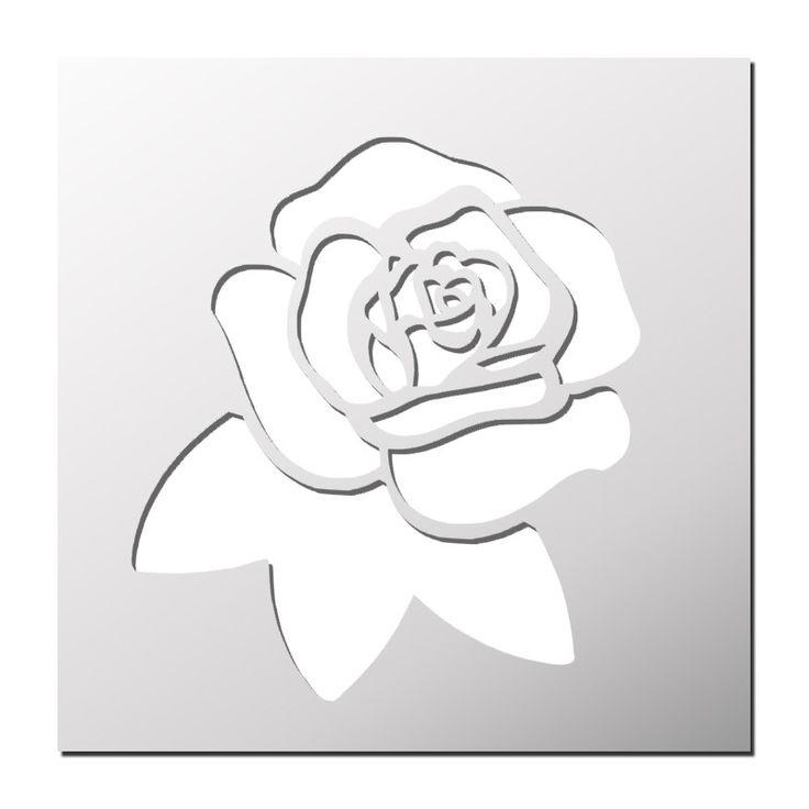 1000 id es sur le th me rose pochoir sur pinterest pochoirs pochoirs de fleurs et silhouettes. Black Bedroom Furniture Sets. Home Design Ideas