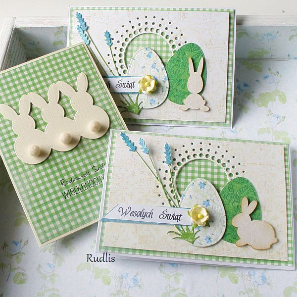 love, life and crafts Rudlis: Easter cards