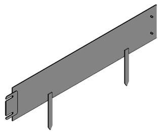 EASY-Liner Wegbegrenzungen aus Cortenstahl