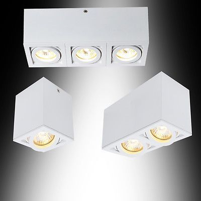 Deckenleuchte Aufbauspot Deckenlampe Leuchten Lampen Deckenstrahler Spot Neu in Möbel & Wohnen, Beleuchtung, Deckenlampen & Kronleuchter | eBay!