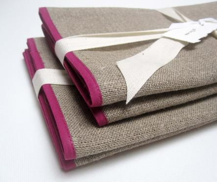 Linen Napkins (More Colors) | BRIKA - A Well-Crafted Life / enter to win http://unbouncepages.com/brika-pinterest-contest #brikagiftlist
