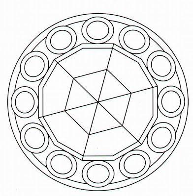 Mejores 16 imágenes de mandala en Pinterest | Mandala para colorear ...