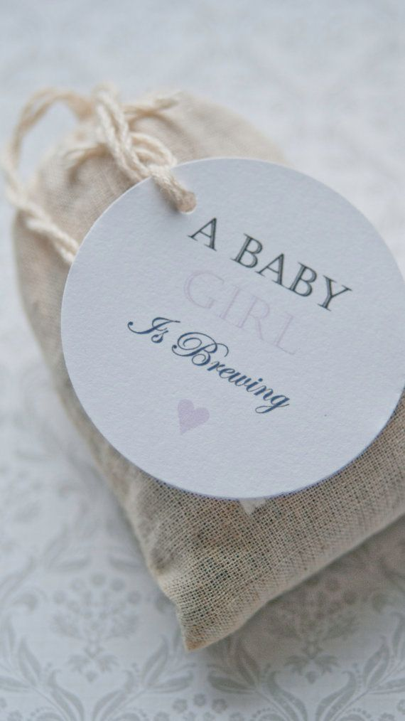 Baby Shower Favors Kuwait ~ A baby is brewing gift tagsbaby shower favor by
