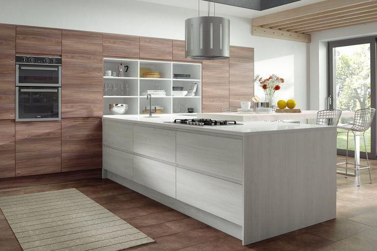 47 best Wood Kitchens images on Pinterest Kitchen gallery, Oak - alno k chen kiel