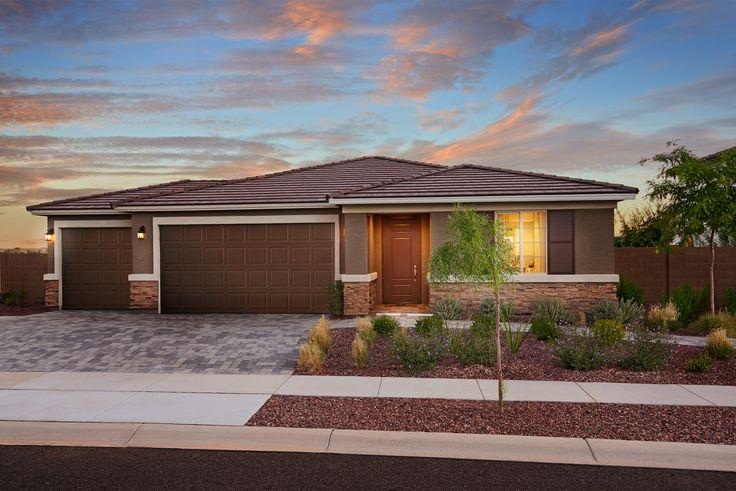 Singlestory raleigh model home surprise arizona