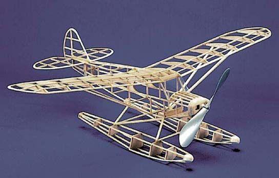 Herr Piper Super Cub Float F/F Model Airplane Kit