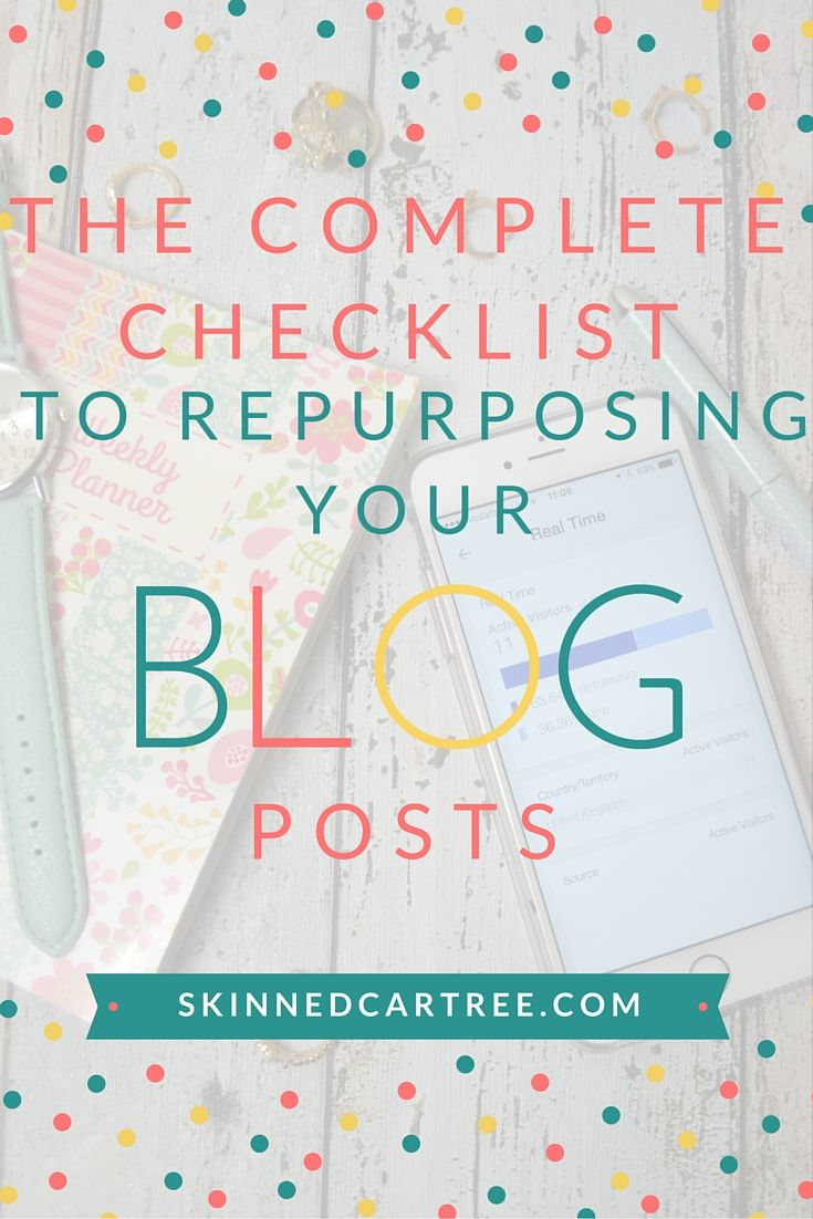 repurpose your blog posts
