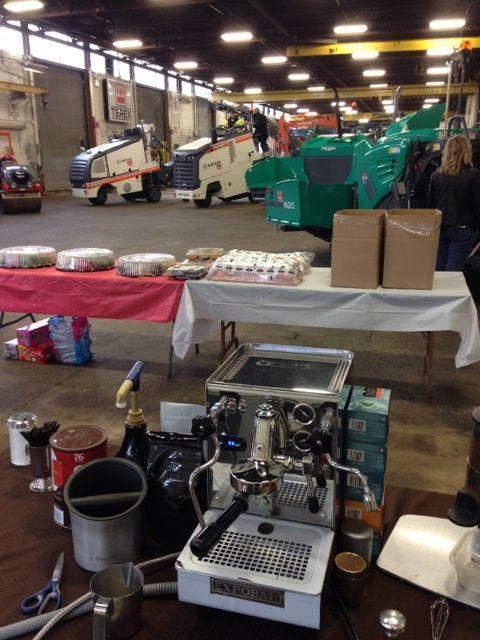 #Coffee #Catering #Toronto at Wajax on 3280 Wharton Way in #Mississauga