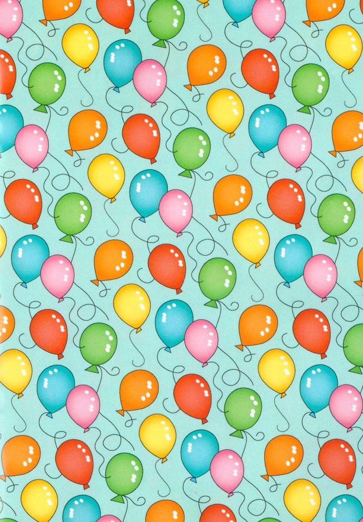 Cute balloons wallpaper