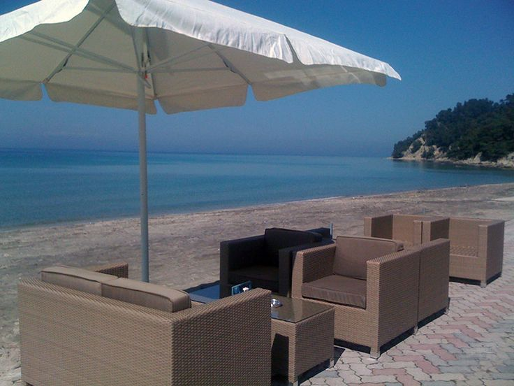 Siviri #beach at #kassandra !!! Enjoy your #summer2016 and book your #apartment http://siviri-houses.com/