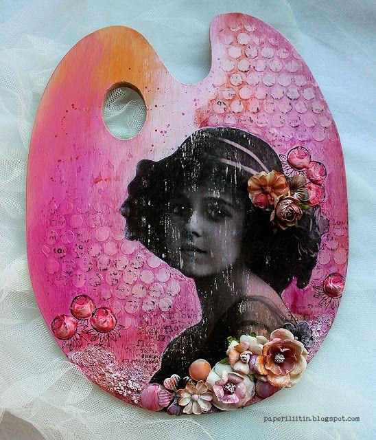 Riikka Kovasin - Paperiliitin: Blooming palette - Craft Stamper