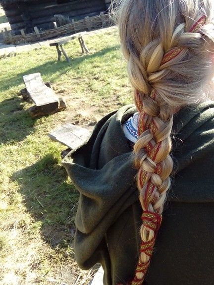 slavic hairstyle, UL Easter Festival 2016