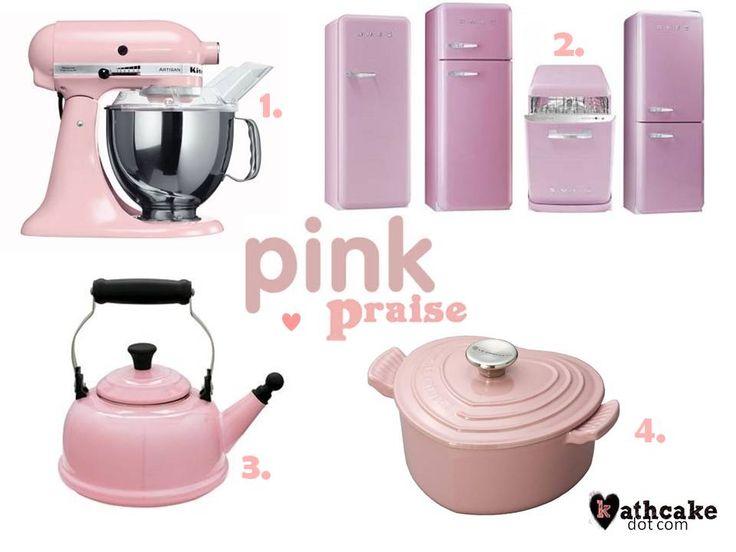 1000 Ideas About Pink Kitchen Appliances On Pinterest