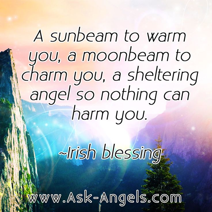 """""""A sunbeam to warm you, a moonbeam to charm you, a sheltering angel so nothing can harm you."""" - grandad #angel"""