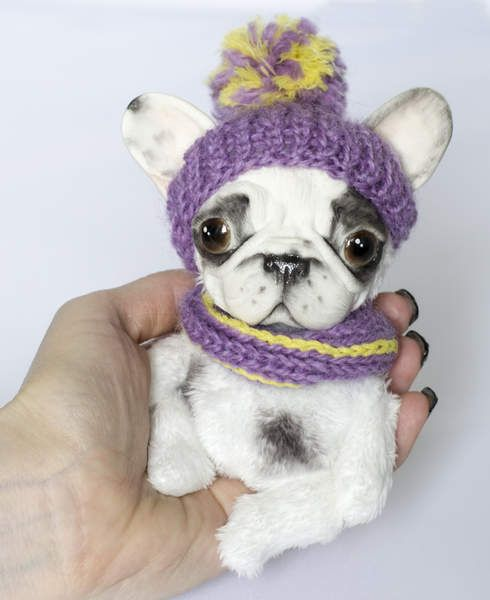 French Bulldog By Bakanova Tanya - Bear Pile