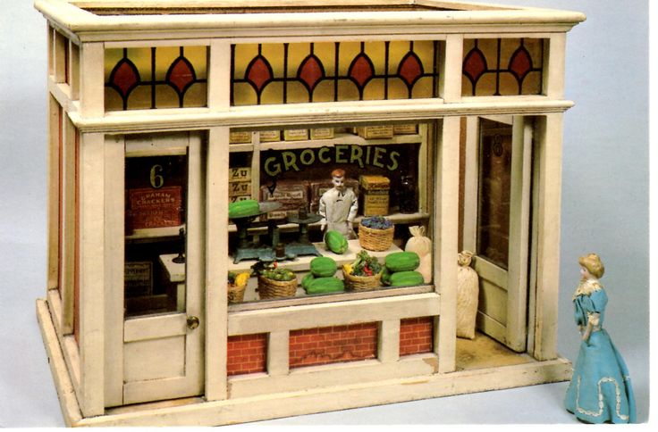 Gail Carey from Little Things Loved has kindly sent some photographs of what appears to be the only Nabisco product included in a non-Nabisco toy. It is a doll house grocery store sold by F.A.O. Sc...