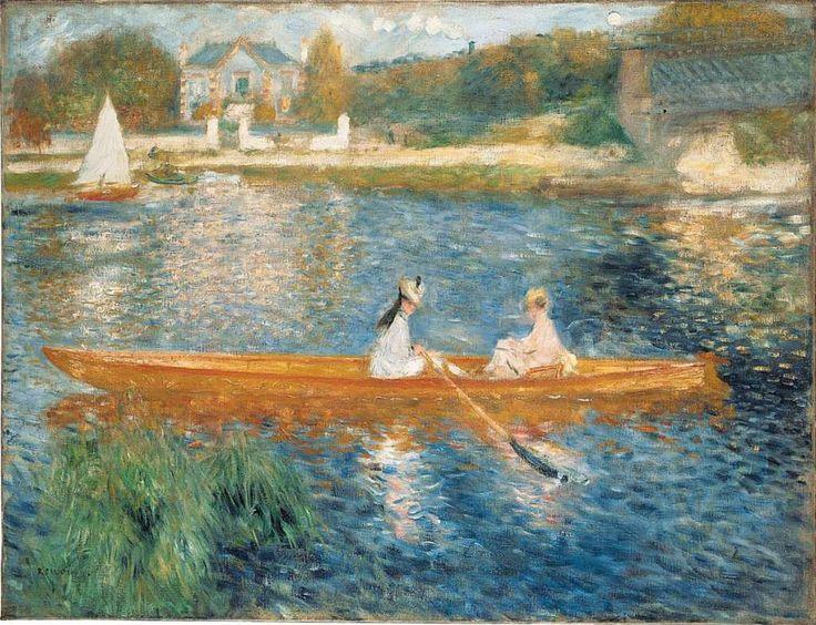 Pierre-Auguste Renoir: Boating On the Seine