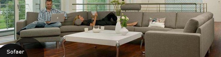 Stouby sofa | Køb Stouby sofa i læder el. stof hos Manilla-huset.