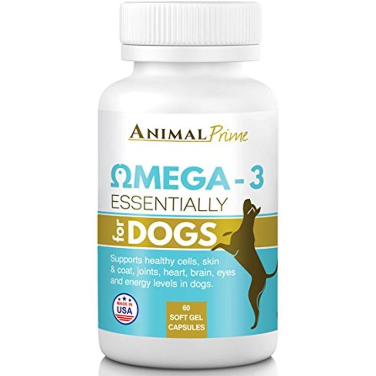 Animal Prime Omega 3 for Dogs Fish Oil Capsules supporting Pain Relief Joints Skin Allergies and Healthy Coat- 60/ 1200 mg @@@ You can click on the image for additional details. (This is an affiliate link and I receive a commission for the sales)