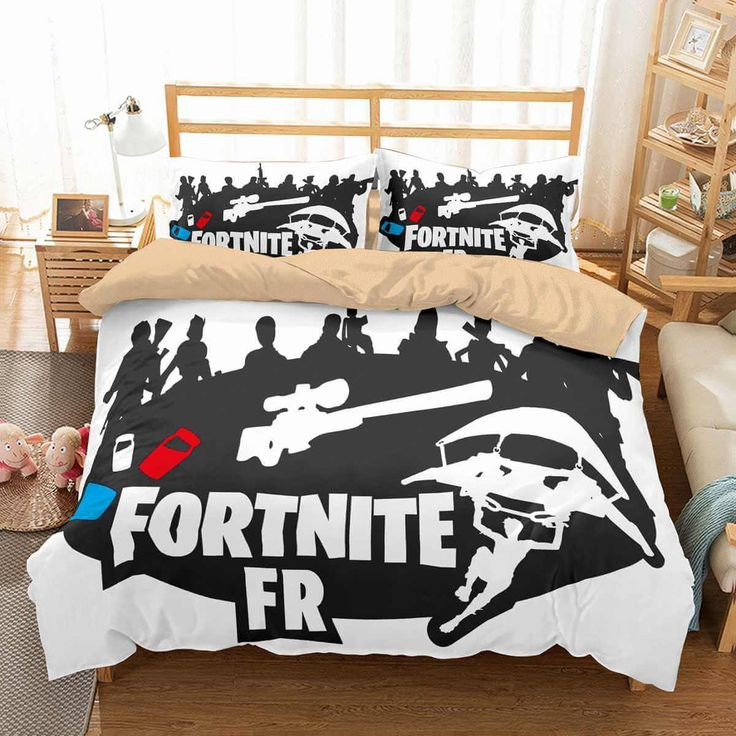332 best cartoon duvet cover set images on pinterest for Vinilos pared fortnite