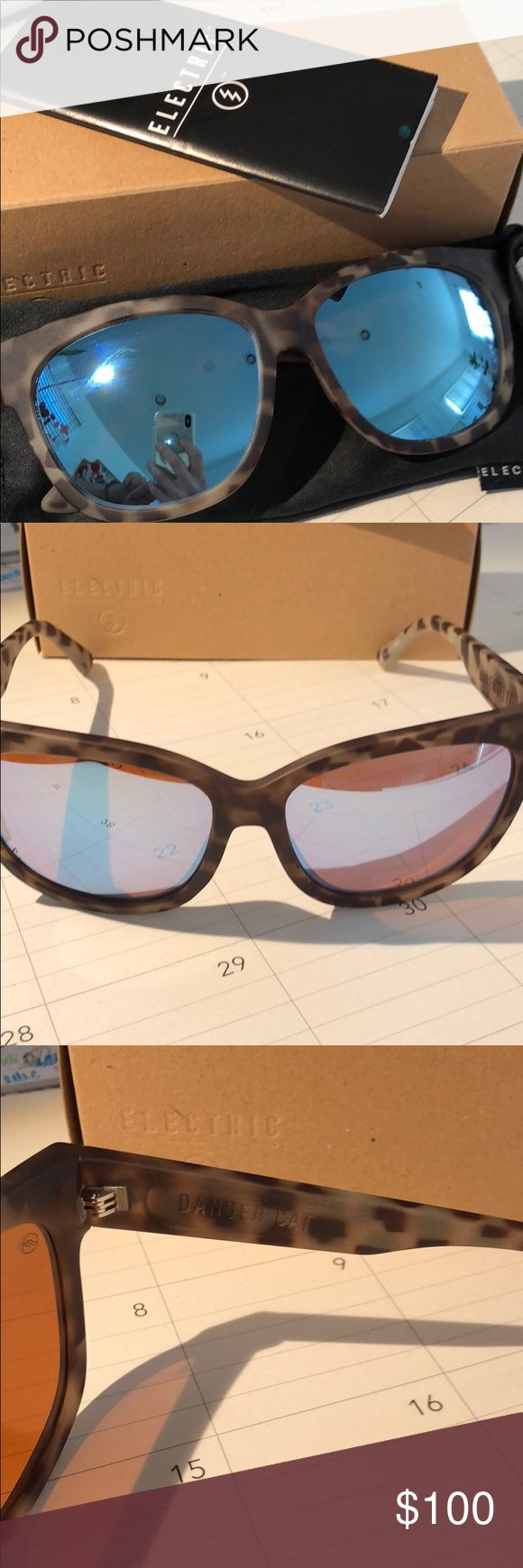 "New in box Electric ""Danger Cat"" sunglasses New in box Electric sunglasses. …"