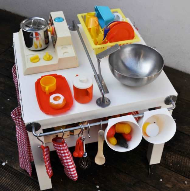DIY Cuisinière pour enfants