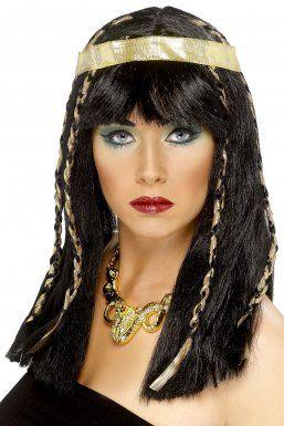 Déguisement, perruque égyptienne femme