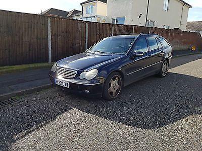 eBay: Mercedes C220 CDI Elegance Diesel Auto Estate Spares or Repair #carparts #carrepair