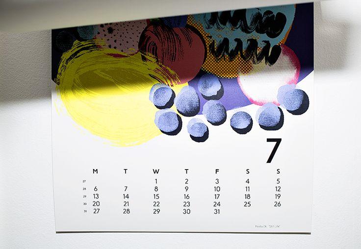 "Calendar 15 in MUUTAMA HETKI. ""Still life"" by Reeta Ek."