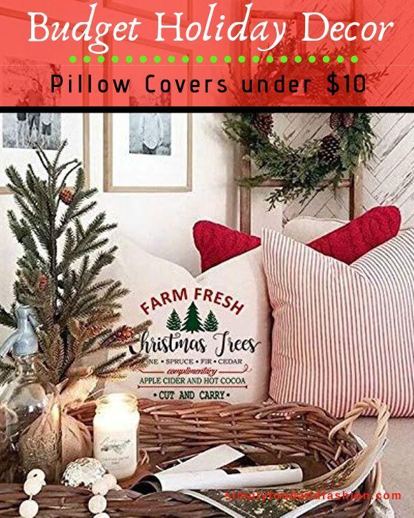 Easy And Economical Holiday Decorating Budget Decor Farmhouse