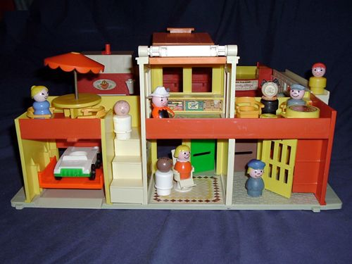 fisher price, little people village,: 80S, Little People, Google Search, Fisherprice, Price Toys, Childhood Toys