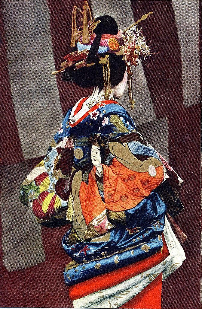 Japan. Kimono national dress