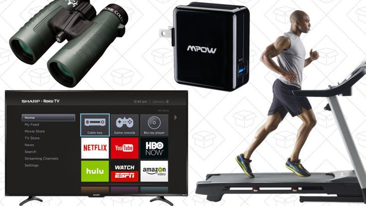 Saturday's Best Deals: Hunting Gear Roku Smart TV Treadmill and More