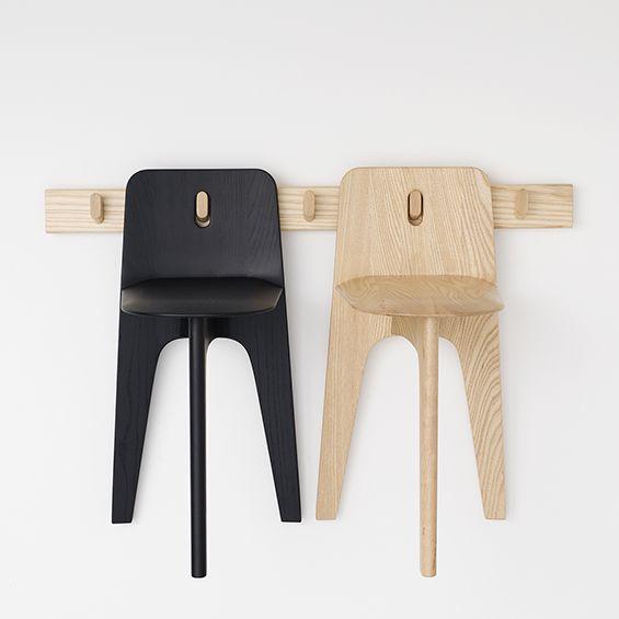 A l'occasion de l'exposition Furnishing Utopia, Gabriel Tan, co-fondateur du studio Outofstock,présente une collection minimaliste de chaises et de porte-manteaux en bois inspirée par le village d'Hancock Shaker, fondé par la branche relig...