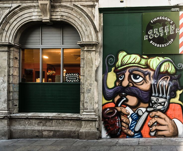 FINNEGAN'S GREEN ROOSTER BARBER SHOP IN TEMPLE BAR REF-101920 | Flickr - Photo Sharing!