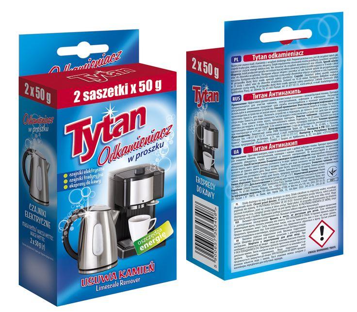 Tytan Limescale Remover 2x50g