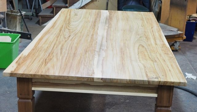Elm dining table, made from salvaged elm trees by Andrew Alstin - Custom Made Dining Table, Bespoke Dining Table, Elm Dining Table, Handmade Dining Table, Best Dining Tables, Dining Tables Melbourne, Dining Tables Sydney, Stunning Dining Table