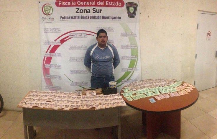 Detienen a sujeto en taller mecánico, robó 98 mil pesos en Parral   El Puntero