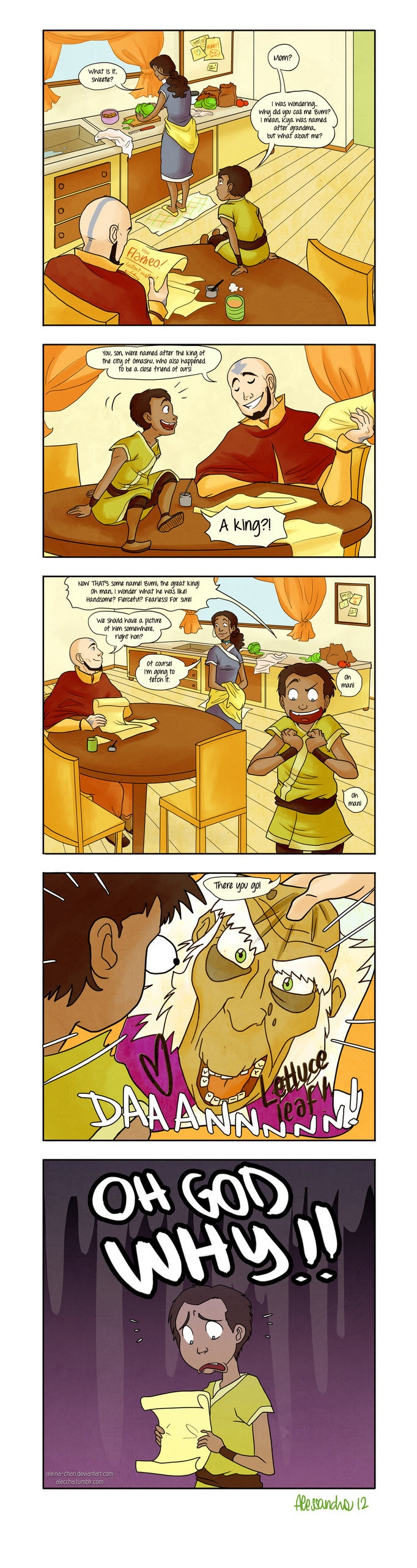 The Legend of Korra: haha I think Bumi would only like his name even more :)