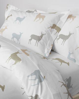 Deer Percale Bedding