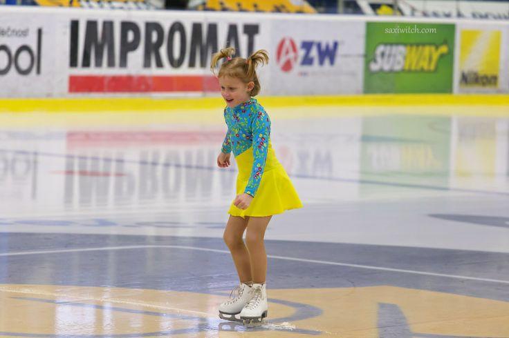 Budoucí královna ledu...  The future queen of ice ...