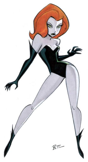 Poison Ivy//Pinups - color/DC/Bruce Timm/ Comic Art Community GALLERY OF COMIC ART