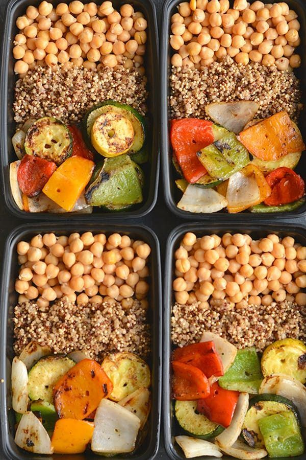 20 Vegetarian Meal Prep Recipes To Make Once And Eat All Week