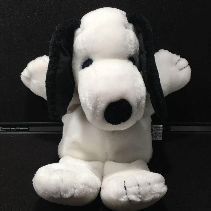Snoopy Plush Hand Puppet Doll Peanuts 1968 Vintage Charlie Brown Stuffed Rare  | eBay