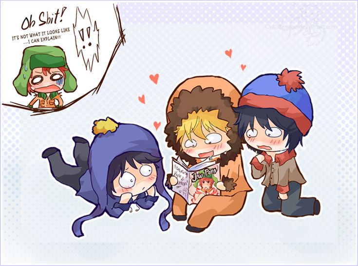 Look What Kenny Found c: by chibibarrage on DeviantArt