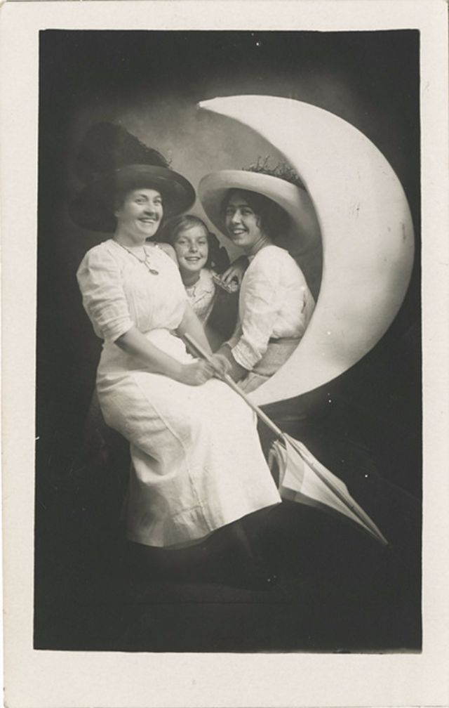 Long before Instagram, photo booths or even the common ownership of a camera, you could get your photograph taken sitting on the moon. Often...