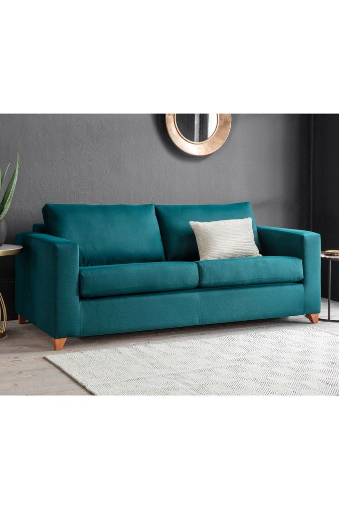 Burton Sofa Bed By Hudson Living Blue Sofa Bed Sofa Bed
