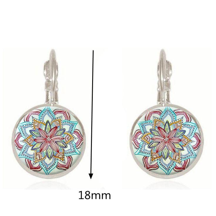 Bohemian Retro Earrings Copper Flower Vintage Earrings online - NewChic