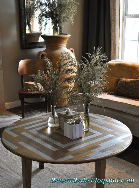 ReNew ReDo!: Coffee Table Makeover ~ Gone To The Wall