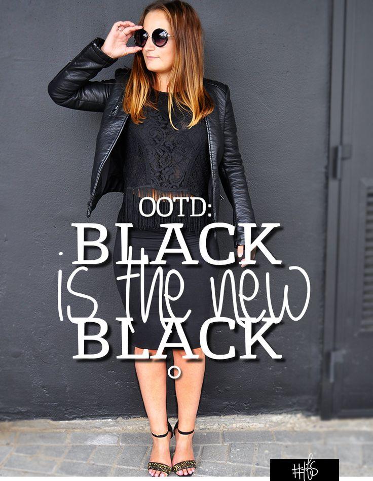 #TFS OOTD: BLACK ON BLACK Black is the new black.   Zwart van top tot teen; een perfecte match voor een avond stijlvol dineren, een chique feest, een belangrijke businessmeeting of een spannend sollicitatiegesprek. Zwart is goed voor elke gelegenheid! Geef er wel een persoonlijke touch aan, want saaie outfits…?! Nou, nee! Read the full story on www.thefullstory.nl